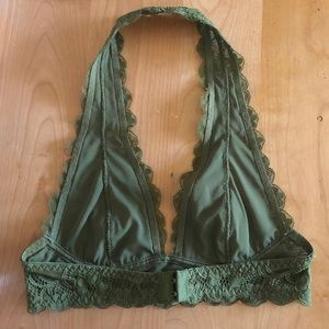 Free People Intimates & Sleepwear - Free People green halter bra